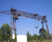 Продаем козловой кран специальный КС-50-42Б,  г/п 50 тонн,  1983 г.в.