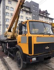 Продаем автокран КС-55727-1 МАШЕКА,  25 тонн,  МАЗ 630303,  2008 г.в.